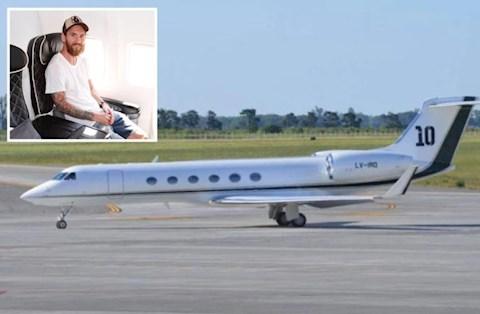 Nóng Máy bay riêng của Lionel Messi gặp sự cố trên đường đi hình ảnh