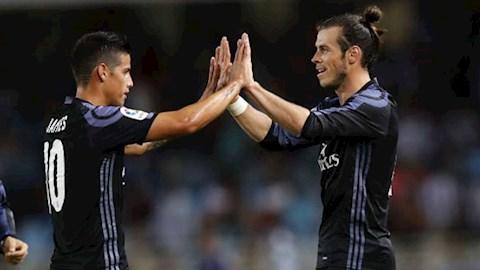 Everton theo đuổi cặp sao Bale và James Rodriguez hình ảnh