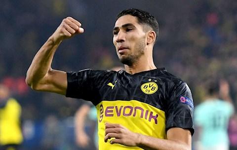 Achraf Hakimi báo tin vui cho Juventus và Chelsea hình ảnh