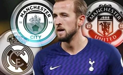 Kane duoc MU va Man City de y
