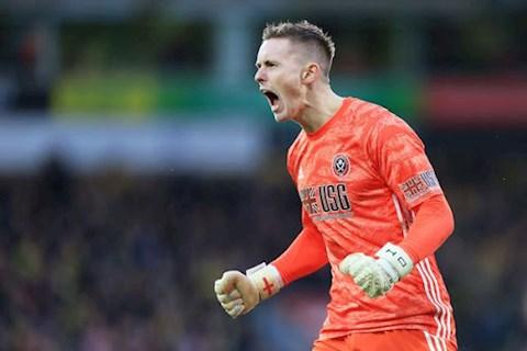 Tottenham ký hợp đồng với thủ môn Dean Henderson của MU hình ảnh