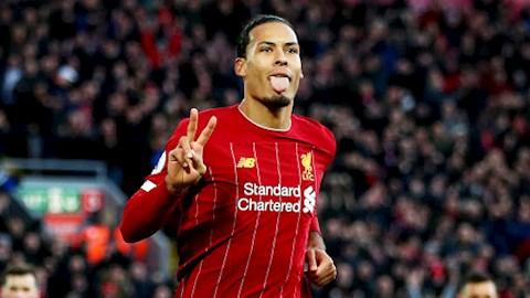 Virgil van Dijk chon ra 5 cau thu tot nhat Premier League mua nay