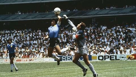Xem lại Argentina vs Anh full trận - Bàn tay của chúa 1986 hình ảnh