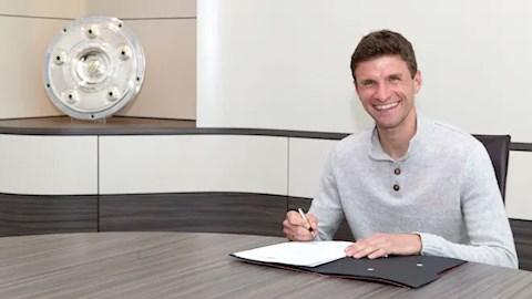 Bayern Munich gia hạn hợp đồng với Thomas Muller đến năm 2023 hình ảnh