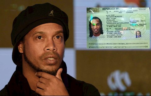 Sau hơn 1 tháng ngồi xà lim, Ronaldinho đã được thả hình ảnh