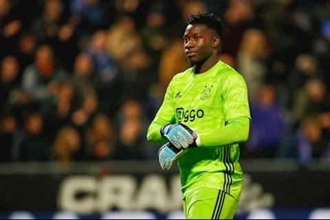 Tottenham muốn mua thủ môn Andre Onana của Ajax hình ảnh