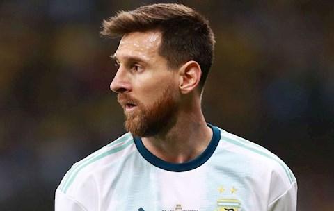 Sergio Aguero bảo vệ Messi giữa những chỉ trích trên ĐT Argentina hình ảnh