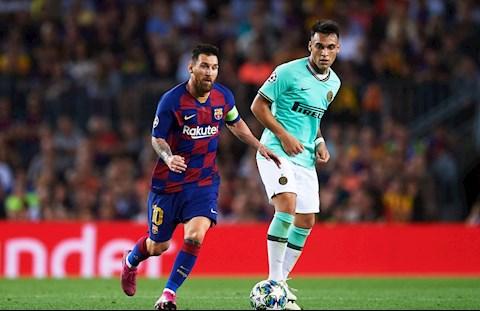 Martinez vs Messi Inter va Barca