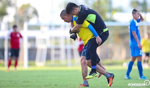Phan Đình Vũ Hải bị đau, Than Quảng Ninh lo về vị trí thủ môn hình ảnh