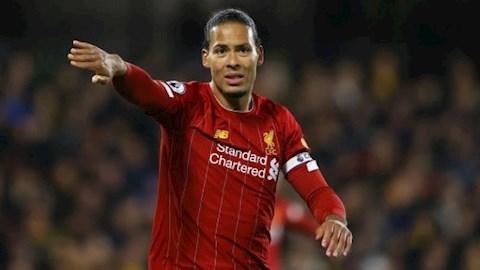 Vincent Kompany khen ngợi Virgil Van Dijk của Liverpool hình ảnh