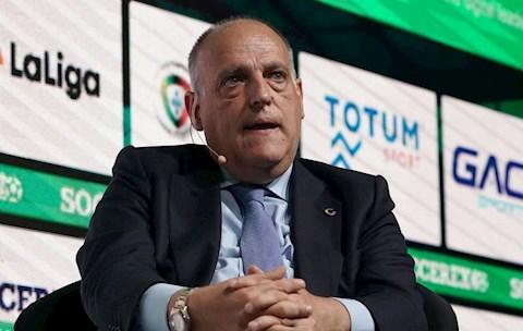 Chủ tịch La Liga công bố cột mốc giải đấu trở lại hình ảnh