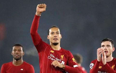 Virgil van Dijk lập kỷ lục chưa từng có trong lịch sử Liverpool hình ảnh