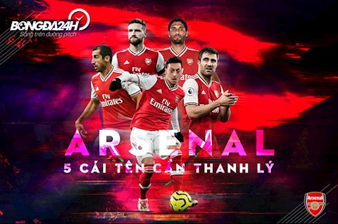 5 cái tên chuyển nhượng Arsenal nên thanh lý sau mùa 2019-20 hình ảnh
