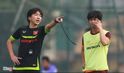 HLV Park Hang Seo thích lối chơi U23 Việt Nam thời Miura hình ảnh
