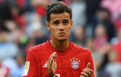 Philippe Coutinho lụi bại ở Bayern và Barca chỉ vì quá yếu đuối hình ảnh