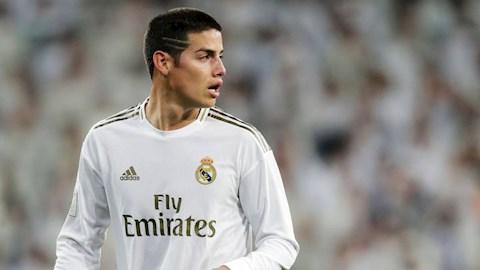 Tiền vệ James Rodriguez tới Atletico Madrid ở Hè 2020 hình ảnh