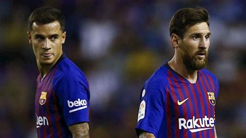 De Boer Coutinho tậm tịt ở Barca vì phải sống dưới bóng Messi hình ảnh