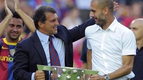 Cựu chủ tịch muốn HLV Pep Guardiola trở lại Barca hình ảnh