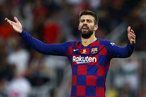 Trung vệ Gerard Pique muốn La Liga 201920 tiếp tục hình ảnh