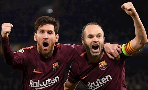 Messi va Iniesta