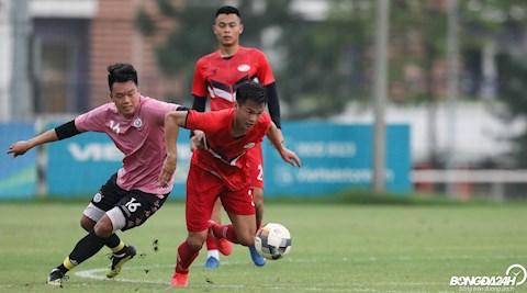 Thanh Chung Viettel vs Ha Noi giao huu