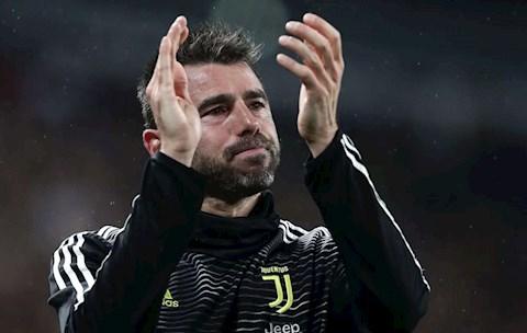 Andrea Barzagli rời cương vị HLV Juventus vì lý do cá nhân hình ảnh