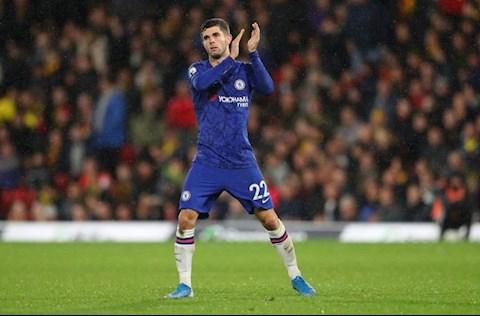 Chelsea chào đón sự trở lại của tiền vệ Christian Pulisic  hình ảnh