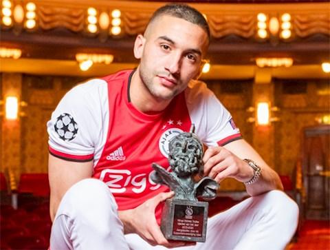 Tân binh Hakim Ziyech của Chelsea xuất sắc nhất Ajax Amsterdam hình ảnh