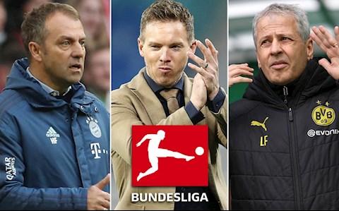 Bundesliga cac HLV