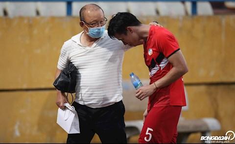 Park Hang Seo Que Ngoc Hai Ha Noi vs Viettel