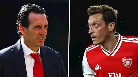 Emery chỉ trích thậm tệ thái độ của Ozil ở Arsenal hình ảnh