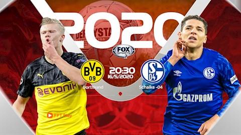 Truc tiep bong da Borussia Dortmund vs Schalke 04 tren kenh nao ?