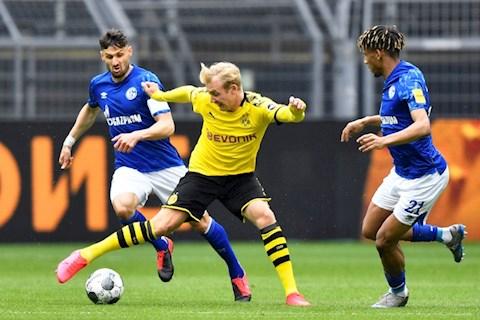Schalke khong the hien duoc qua nhieu truoc Dortmund