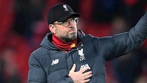 Klopp Không trao chức vô địch cho Liverpool mùa này là sai lầm hình ảnh