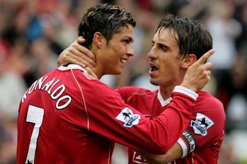 Neville từng nghi ngờ tài năng của tiền đạo Cristiano Ronaldo hình ảnh