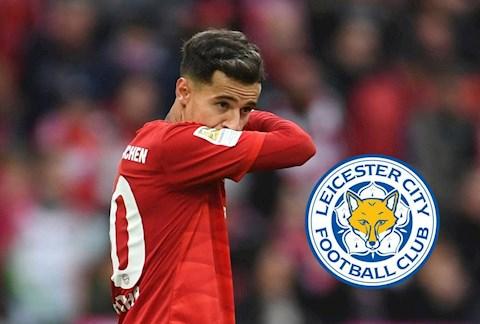 HLV Leicester nói về khả năng chiêu mộ tiền vệ Philippe Coutinho hình ảnh
