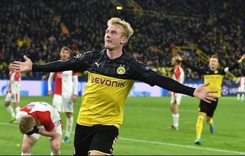 Dortmund có Julian Brandt đủ sức chơi cho Barca hoặc Real hình ảnh