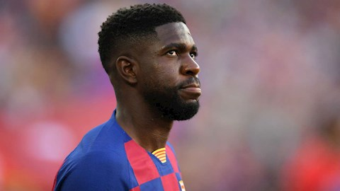 Barca giảm giá bán trung vệ Samuel Umtiti  hình ảnh