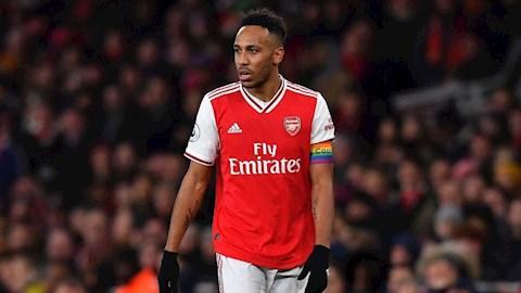 Huyền thoại Arsenal lên tiếng về tương lai tiền đạo Aubameyang hình ảnh