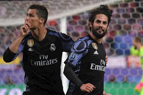 Ronaldo muon choi ben canh Isco o Juventus