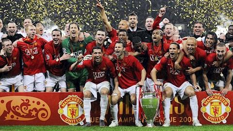 Manchester United an mung chuc vo dich C1 lan thu 3 trong lich su