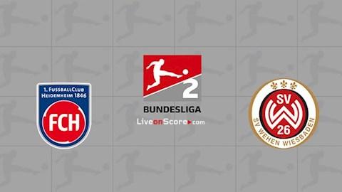 Heidenheim vs Wehen 23h30 ngày 225 Hạng 2 Đức 201920 hình ảnh