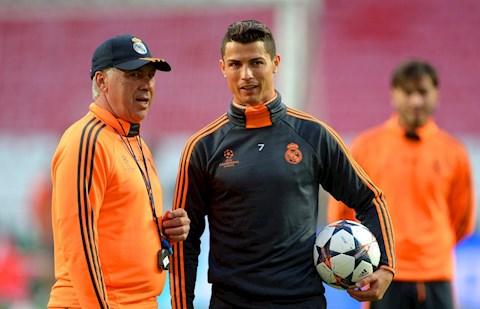Carlo Ancelotti Ronaldo chẳng cần đến hướng dẫn của HLV! hình ảnh