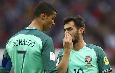 Tuyển thủ Bồ Đào Nha không dám ngang hàng với Cristiano Ronaldo hình ảnh