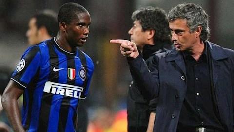 Samuel Etoo nguyện trung thành với Mourinho hình ảnh