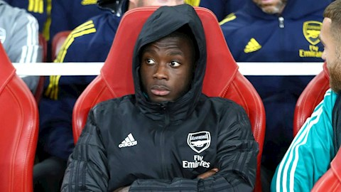 Tiền đạo Nicolas Pepe cần nỗ lực hơn ở mùa giải tới hình ảnh