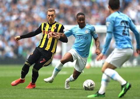 Man City dang la DKVD FA Cup
