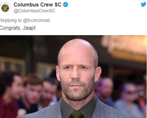 CLB Columbus Crew cham choc Cincinnati tren Twitter