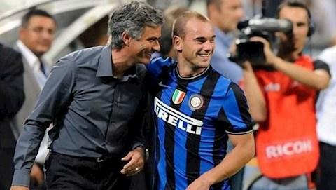 Mourinho lên tiếng bảo vệ Sneijder hình ảnh