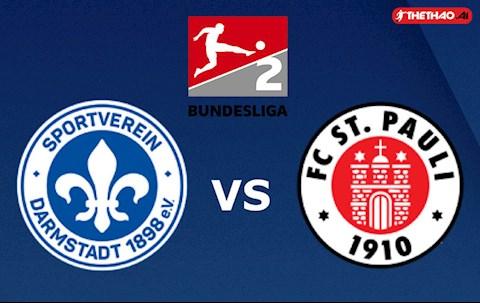 Darmstadt vs StPauli 18h00 ngày 235 hạng 2 Đức 201920 hình ảnh